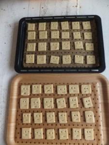 食育*クッキー作り (2)